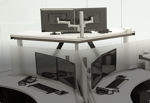 Top 5 Reasons to Use Modular Monitor Mounting - ATDEC